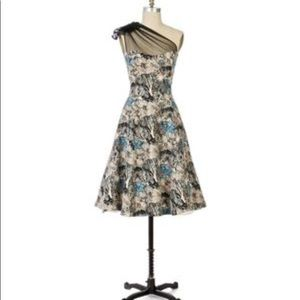 NWOT Anthropologie's Into the Woods Dress 4